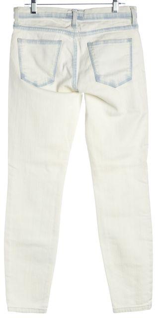 CURRENT ELLIOTT White Blue Sun Bleached The Stiletto Skinny Jeans