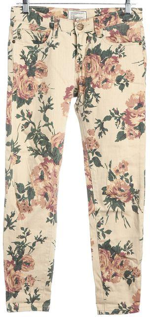 CURRENT ELLIOTT Multi-color The Stiletto Slim Fit Jeans
