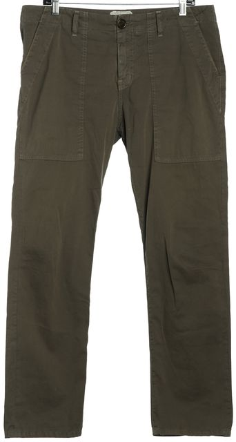 CURRENT ELLIOTT Olive Green The Field Army Pant Cargo Pants