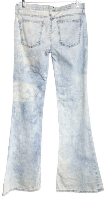 CURRENT ELLIOTT Blue Flare Jeans