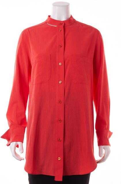 CARVEN Pink Open Back Button Down Shirt