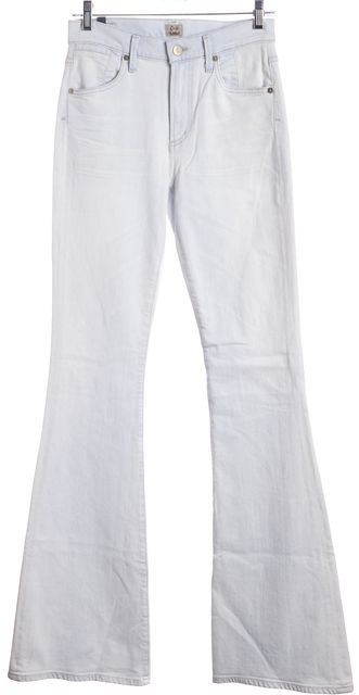 CITIZENS OF HUMANITY Light Blue Flare Jeans