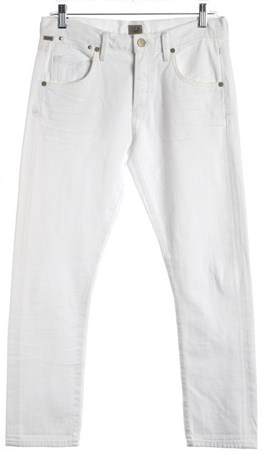 CITIZENS OF HUMANITY White Slim Fit Jeans