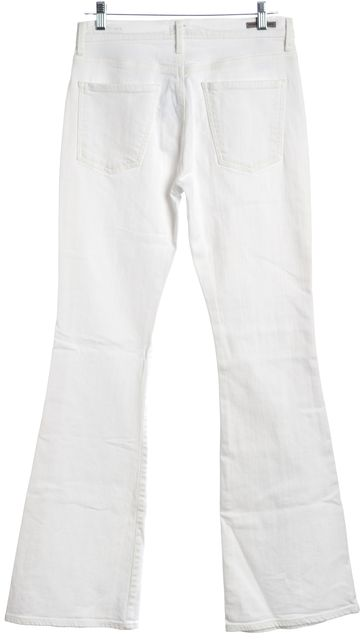CITIZENS OF HUMANITY White Flare Jeans