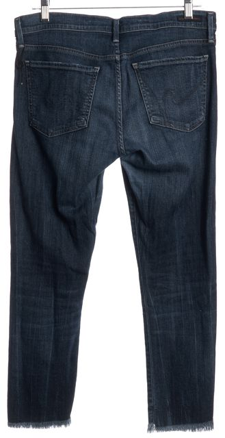 CITIZENS OF HUMANITY Blue Capri Jeans
