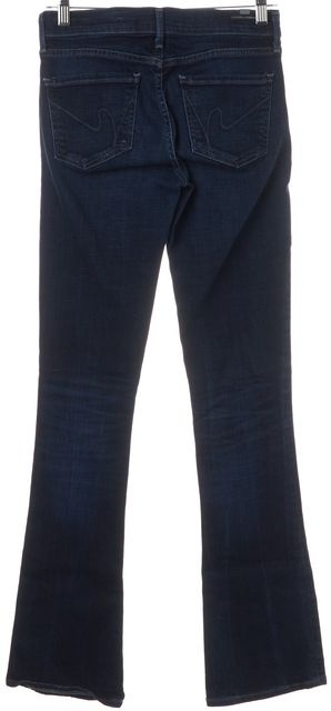CITIZENS OF HUMANITY Blue Emannuelle Boot Cut Slim Fit Jeans