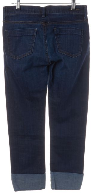 CITIZENS OF HUMANITY Blue Dani Straight Leg Jeans