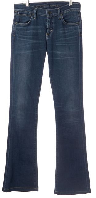 CITIZENS OF HUMANITY Blue Emannuelle Slim Boot Cut Jeans