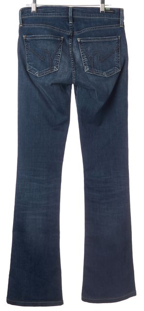 CITIZENS OF HUMANITY Blue Emannuelle Slim Boot Cut CasualJeans