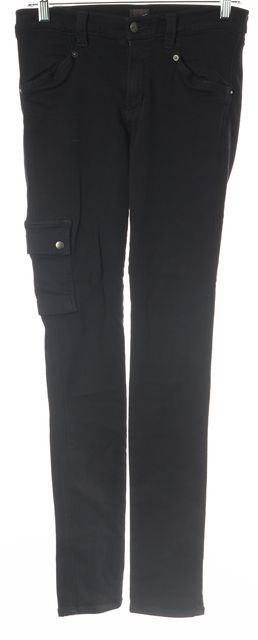 CITIZENS OF HUMANITY Black Skinny Leg Cargo Jeans