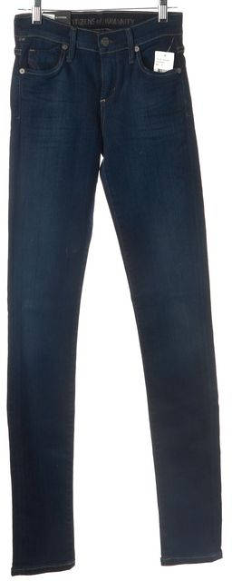 CITIZENS OF HUMANITY Dark Wash Avedon Slick Skinny Jeans