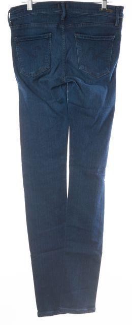 CITIZENS OF HUMANITY Blue Stretch Denim Avedon Slick Skinny Leg Jeans