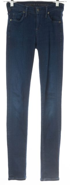 CITIZENS OF HUMANITY Dark Wash Avedod Slick Skinny Leg Jeans