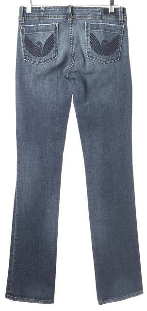 CITIZENS OF HUMANITY Blue Straight Leg Jeans