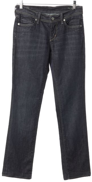 CITIZENS OF HUMANITY Blue Dark Wash Slim Fit Jeans