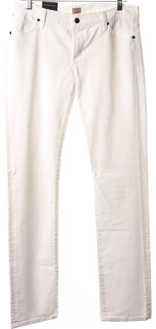 CITIZENS OF HUMANITY White Straight Leg Casual Slim Fit Classic Jeans