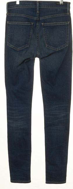 CITIZENS OF HUMANITY Blue Rocket High Rise Medium Wash Skinny Jeans