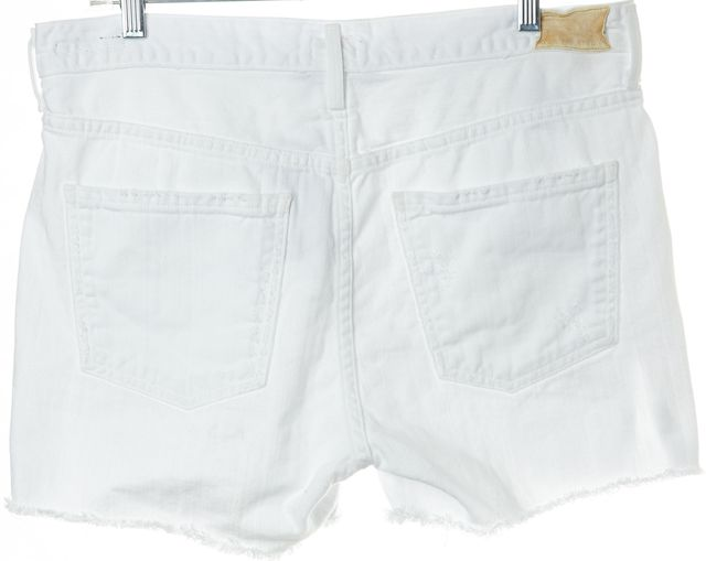 "CITIZENS OF HUMANITY White ""Corey"" Denim Shorts"