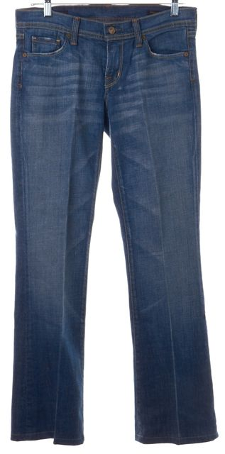 CITIZENS OF HUMANITY Medium Wash Wide Leg Jeans
