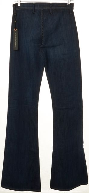 CITIZENS OF HUMANITY Blue Stevie High Waist 70s Jet Set Flare Jeans