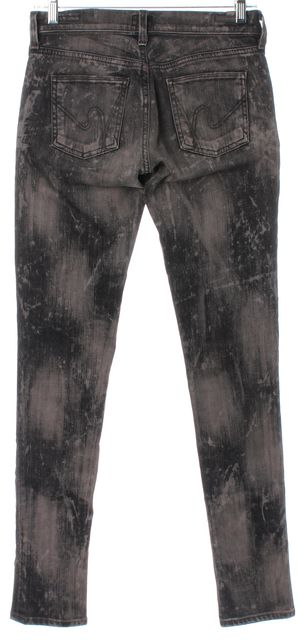 CITIZENS OF HUMANITY Gray Avedon Low Rise Skinny Leg Slim Fit Jeans