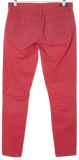 CITIZENS OF HUMANITY Pink Thompson Cropped Skinny Jeans