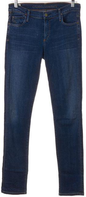 CITIZENS OF HUMANITY Blue Soft Denim Avedon Slick Skinny Leg Jeans