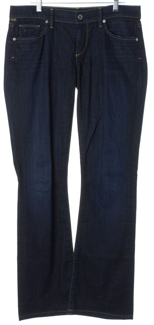 CITIZENS OF HUMANITY Blue Kelly Low Rise Boot Cut Jeans