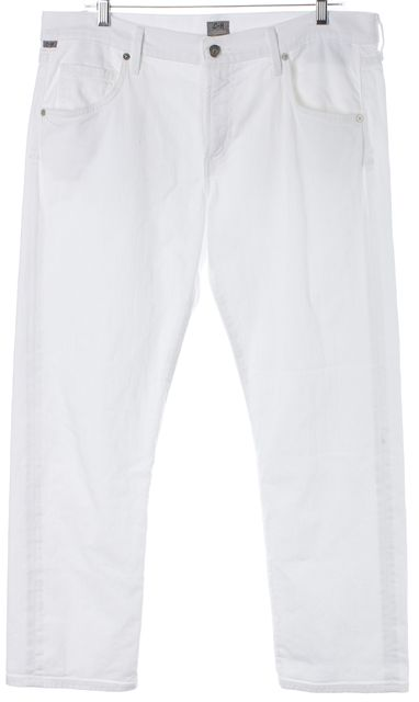 CITIZENS OF HUMANITY White Emerson Slim Boyfriend Jeans