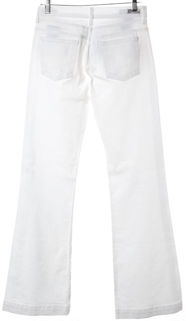 CITIZENS OF HUMANITY White High Rise Wide Flare Leg Boot Cut Jeans