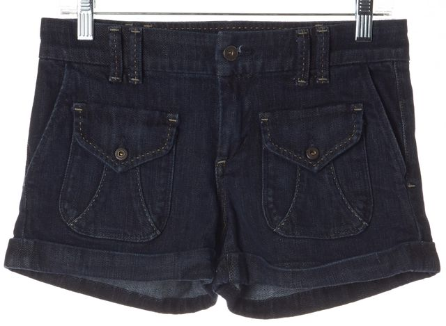 CITIZENS OF HUMANITY Blue Denim Shorts