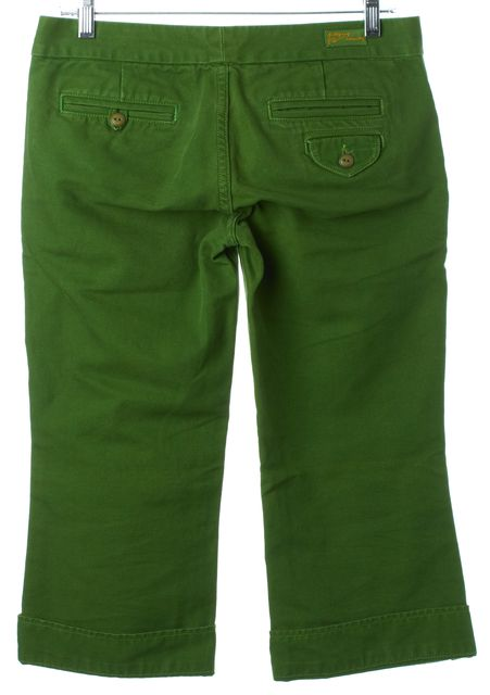 CITIZENS OF HUMANITY Lime Green Cropped Pants