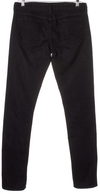CITIZENS OF HUMANITY Black Avedon Low Waist Skinny Jeans
