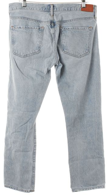 CITIZENS OF HUMANITY Blue Emerson Distressed Slim Boyfriend Jeans