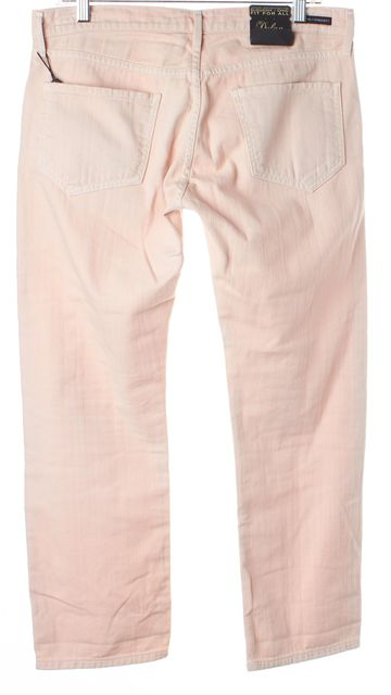 CITIZENS OF HUMANITY Flamingo Pink Dylan Drop Rise Cropped Boyfriend Jeans