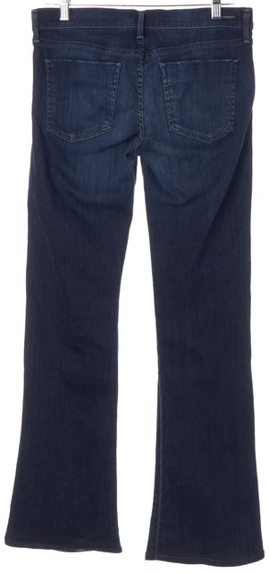 CITIZENS OF HUMANITY Blue Stretch Cotton Flare Jeans