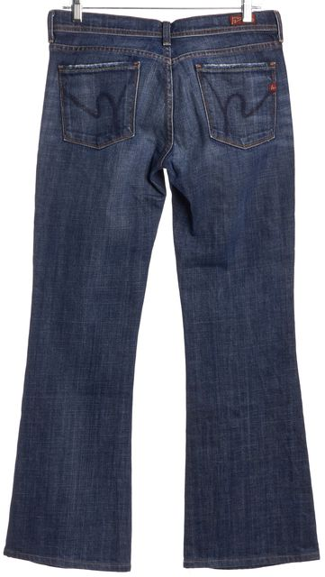 CITIZENS OF HUMANITY Blue Flare Jeans
