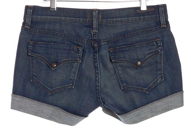 CITIZENS OF HUMANITY Blue Dark Denim Shorts