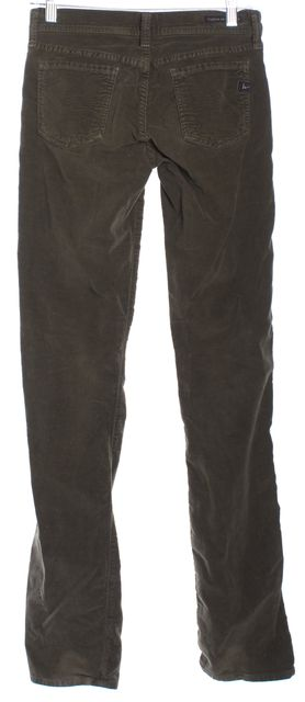 CITIZENS OF HUMANITY Green Corduroys Pants