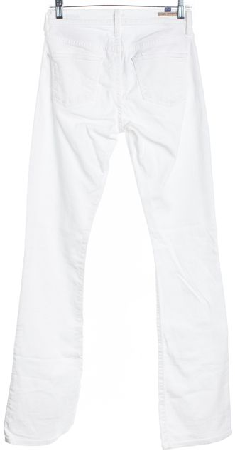 CITIZENS OF HUMANITY White Boot Cut Jeans
