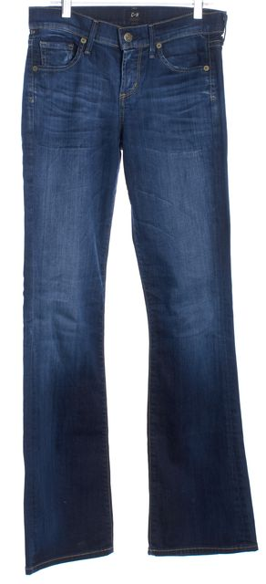 CITIZENS OF HUMANITY Dark Blue Dita Boot Cut Flare Jeans