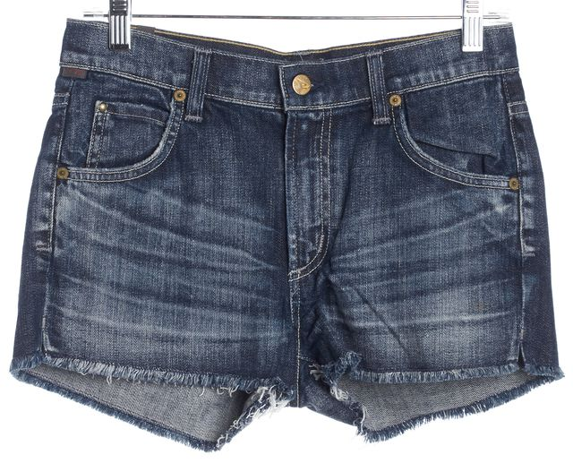 CITIZENS OF HUMANITY Blue Relaxed Denim Shorts