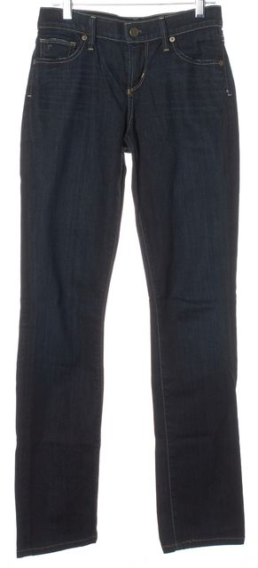 CITIZENS OF HUMANITY Dark Blue Relaxed Straight Leg Jeans