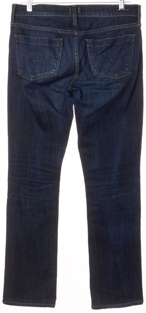 CITIZENS OF HUMANITY Blue Ava Straight Leg Jeans