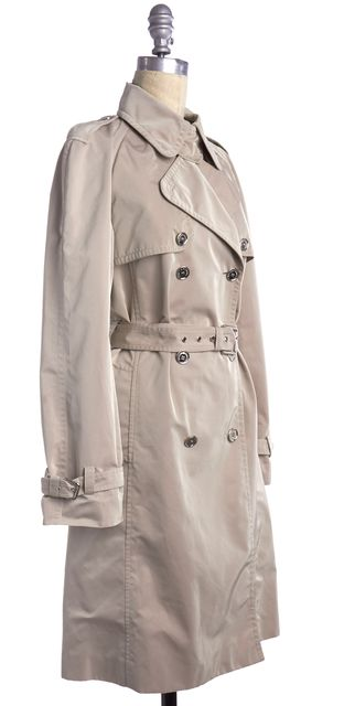 DOLCE & GABBANA Beige Trench Coat Jacket