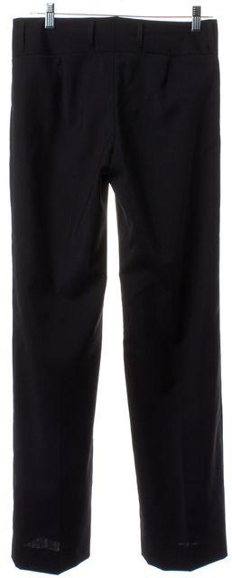 DOLCE & GABBANA Black Wool Dress Pants