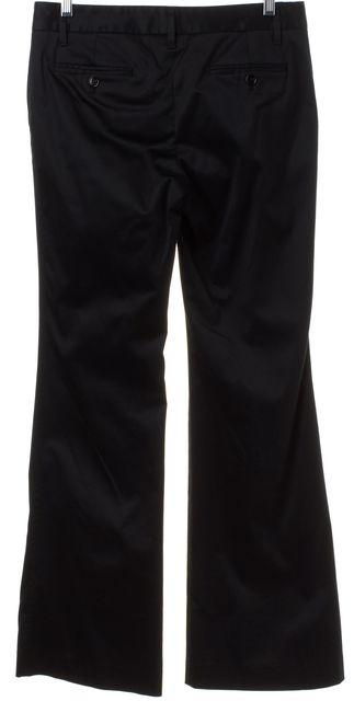 DOLCE & GABBANA Black Flare Dress Pants