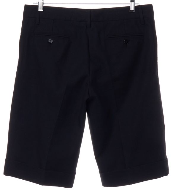 DOLCE & GABBANA Black Bermuda Shorts