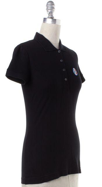 DOLCE & GABBANA Black Polo Shirt Top
