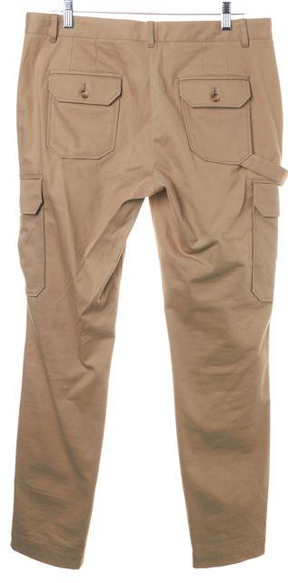 DOLCE & GABBANA Beige Khaki Lim Leg Cargo Pants